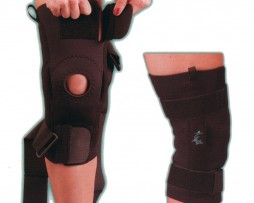 AKS Knee Support with Metal Hinges & Straps