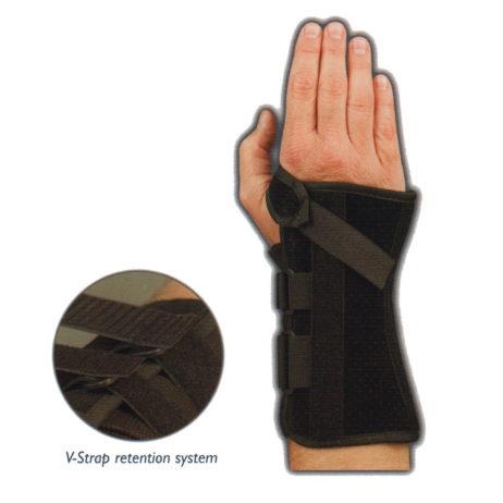 V-strap wrist support