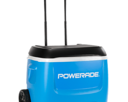 POWERADE® 60 Quart Rolling Ice Chest