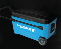 POWERADE® 110 Quart Rolling Ice Chest