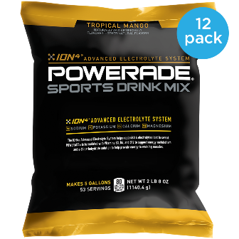 POWERADE® Sports Drink Mix 5 Gallon Pouch (case of 12)